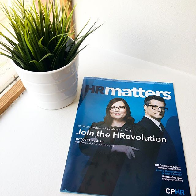 Have you read Jane's article in the latest edition of HR Matters? Check it out on page 12! 👉🏻 https://www.nxtbook.com/naylor/HMMB/HMMB0218/index.php . . You'll also find Brad and Jane presenting at this year's CPHR conference. You won't want to miss their session! . . #Winnipeg #winnipegbusiness #winnipegbiz #exchangedistrict #exchangebiz #exchangedistrictbiz #humanresources #humanresourcesmanagement #hrmanager #hrmanagement #hrmanagers #leaders #leadership #managers #employeeengagement #business #management #recruiting #recruitment #companyculture #hrlife #gsd