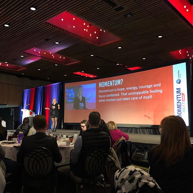 Only thing to do is jump over the moon 🌙 We are gaining serious momentum hearing from Acuity's Jane Helbrecht, Mark Chipman and the other amazing speakers so far at this year's GenNext Summit! . . . #gennextsummit2018 #winnipeg #winnipegbusiness #winnipegbiz #exchangedistrict #exchangebiz #exchangedistrictbiz #humanresources #humanresourcesmanagement #hrmanager #hrmanagement #hrmanagers #leaders #leadership #managers #employeeengagement #business #management #recruiting #recruitment #companyculture #hrlife #gsd
