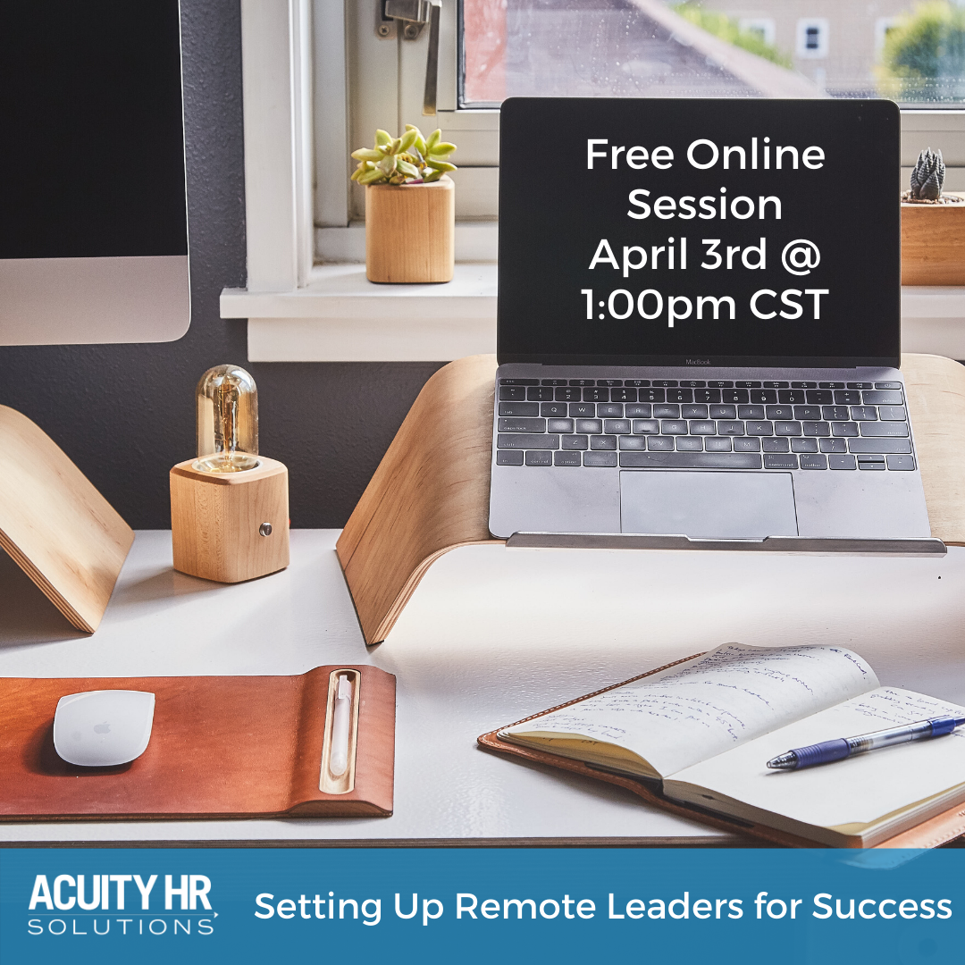 Acuity Remote Leadership Session